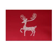 area rugs deer crossing deer crossing decorative holiday print red indoor outdoor area rugholiday animal