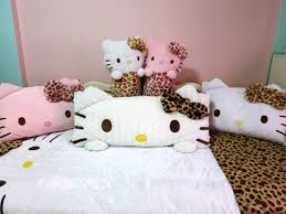 hello kitty bedroom furniture. interior cute and pinky hello kitty girls kid bedrooms inviting bedroom some dolls as the pillows furniture