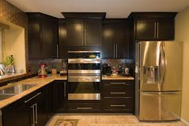 exceptional wood cabinets kitchen 4 wood. Small Kitchens With Dark Cabinets Pleasurable Inspiration 27 Imposing Darkbinets Kitchen And Floors Pics Exceptional Wood 4 O