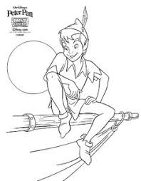 Small Picture Peter Pan Coloring Pages Projects to Try Pinterest Peter pans