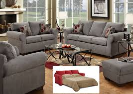 1640 Graphite Gray Sofa Set