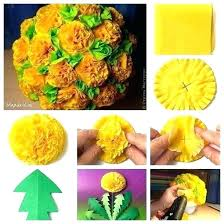 pieces summer party decoration kit tissue pineapples paper pom