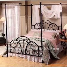 Incredible Wrought Iron Canopy Bed with Wrought Iron Canopy Bed ...