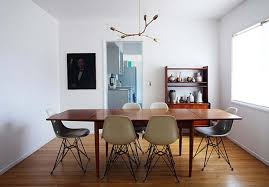 image of contemporary chandeliers