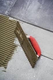 sub floor tile installation