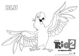 Rio 2 Tutto Sul Film Tra Musica Personaggi E Disegni Da Colorare