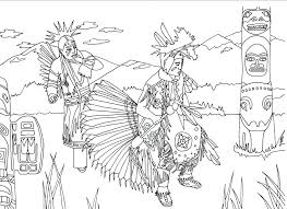Native American Coloring Pages Pdf With Native Coloring Sheets