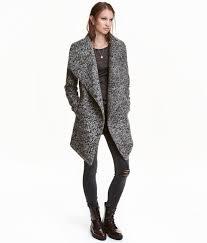 h m wool blend bouclé coat