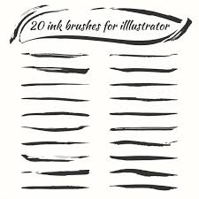 48 Illustrator Brushes That Are Perfect For Painting Medialoot