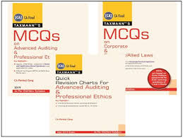 Pankaj Garg Audit Charts Nov 2018 Ca Final Law And Audit Mcqs And Quick Revision Charts Combo