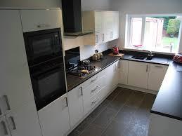 Painted Black Kitchen Cabinets Black And White Kitchen Google Search Kitchen Pinterest