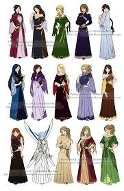Design Clothes Anime Dress N Clothes Designs P3 Different Kin Women By