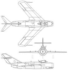 「1950年 - MiG-17」の画像検索結果