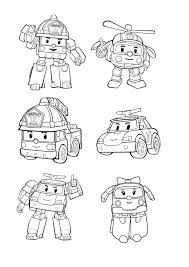 To Print Coloring Robocal Poli 11 Click On The Printer Icon At Coloriage De Roy Le Pompier Coloriage Robocar Poli Dessin A Colorier Poli L