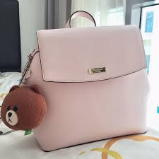 Kate Spade Light Pink Backpack Kate Spade Light Pink Backpack Authentic Preloved