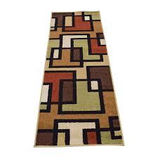 multi colored runner rug