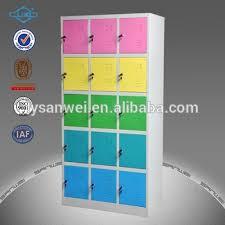 15 Doors Worker/student Steel Clothes Wardrobe Storage Bedroom Wall  Wardrobe Closet Design Lockers For