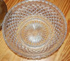 vintage cut glass ceiling light flush
