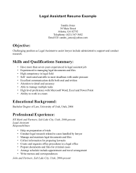 Paralegal Job Description For Resume Paralegal Resume Templates Tem Template Free Word Entry Level 24