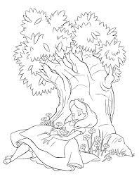 Small Picture Alice And Wonderland Caterpillar ColoringAndPrintable Coloring