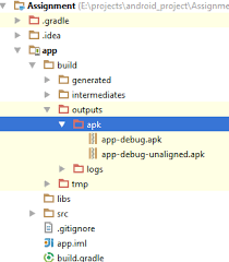 Apk location in New Android Studio Stack Overflow