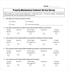 14 Customer Survey Templates Doc Pdf Free Premium