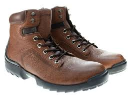 Pirelli Pzero Power Scorpio Mens Hiking Leather Boots Brown