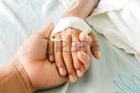 Resultado de imagen de mano al enfermo