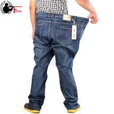 Mens Designer Jeans Size 46 Us 24 85 40 Off 2019 Mens Full Length Retro Jeans Pants Men Casual Straight Fitness Denim Trousers Male Designer Plus Big Size 42 44 46 48 50 52 In