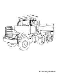 Camion Truck Coloriage Gratuit Engin De Travail Pinterest