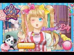 manga lily dress up kaisergames play anese anime style make over princess game for