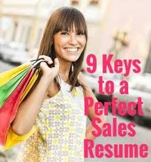 ideas about Sales Resume on Pinterest   Resume Skills  Sales     Pinterest   Tips for a Perfect Sales Resume