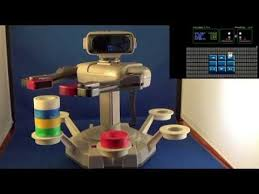 R.O.B. the Robot Stack Up in Action NES Robotic Operating Buddy ...