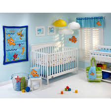 disney baby bedding nemo s wavy days 4 piece crib set