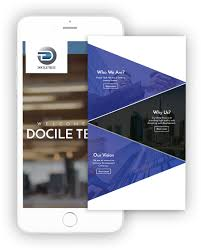 Bespoke Web Design Company Web Design Dubai Mobile App Development Dubai Docile Tech