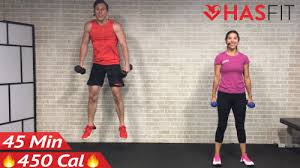 45 minute full body dumbbell workout at