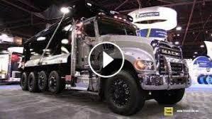 2018 Mack Granite 64B Daycab Dump Truck - Walkaround - 2017 NACV ...