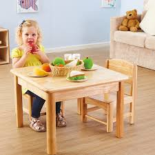 toddler wooden role play table and chairs tts pcs large school resources