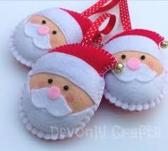 Felt Craft  Merry Christmas Santa Plushie Easy Sewing Fun  YouTubeChristmas Felt Crafts