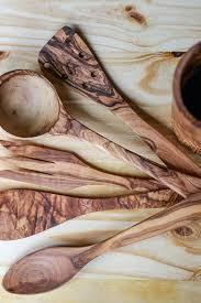 wood utensil sets stainless steel kitchen