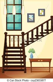 upstairs clipart. Fine Upstairs A View Of The Indoor Part House  Csp23633877 On Upstairs Clipart 1