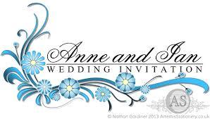 wedding designs. Sienna floral wedding stationery in light blue A S Invites