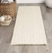 braided jute rug runners