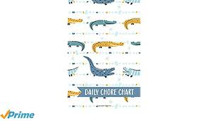 Family Calendar Chore Chart Daily Chore Chart Crocodile Kids Weekly Checklist Task
