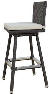outdoor patio bar stools swivel waco66