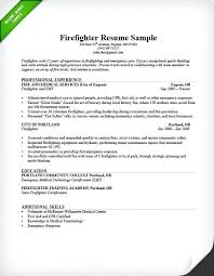 dod firefighter resume examples example .
