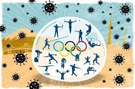 What do athletes say about the pandemic rules?