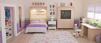 ... Camden Wall Beds in Maple with Natural Finish in Kids Room