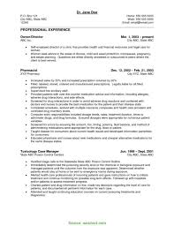 Pharmacy Manager Resume Example Free Download Excellent Resume