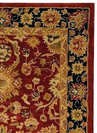 red oriental rug red and navy rug hand tufted hand hooked red navy area rug navy red oriental rug